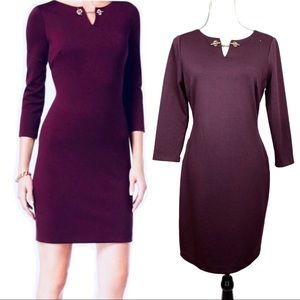 Ivanka Trump Dark Purple Dress Size 6